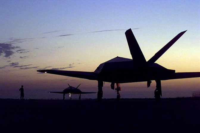 SHED Happens! Biological Stealth Fighter Jets