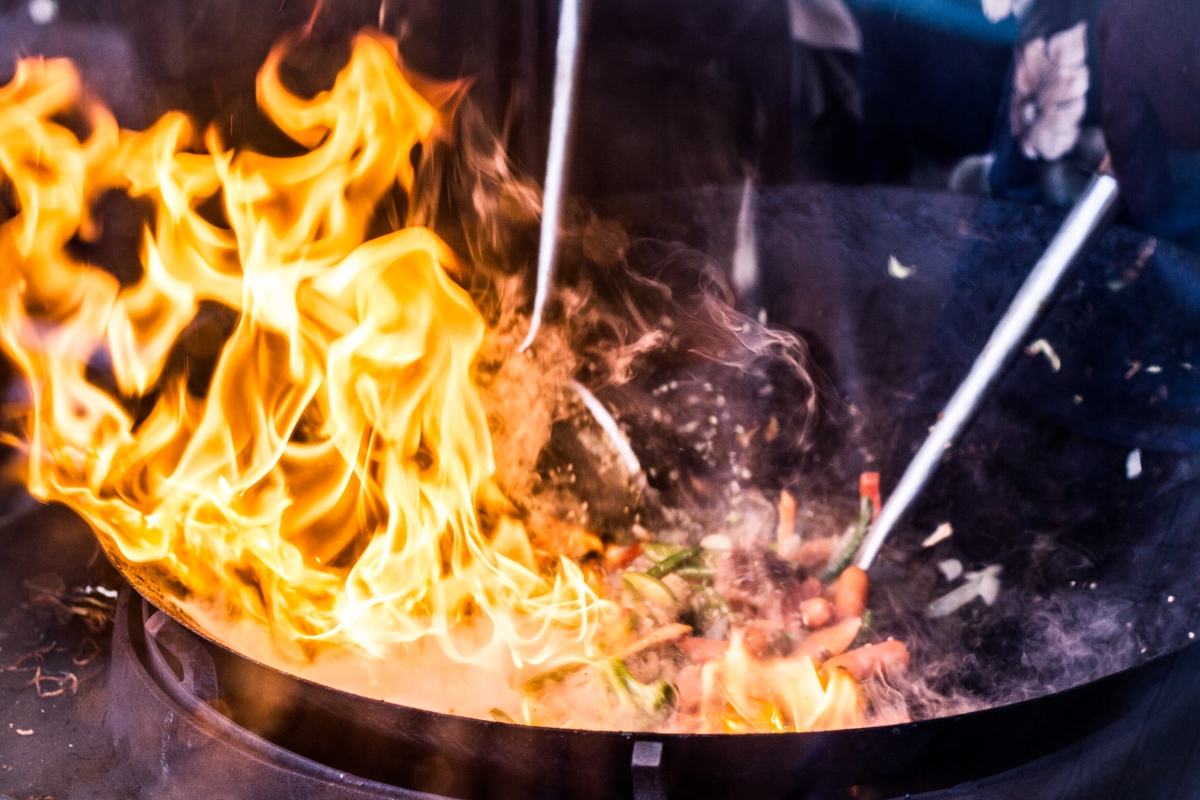 Wok Wonk Heat Conductivity And The Science Of Wok